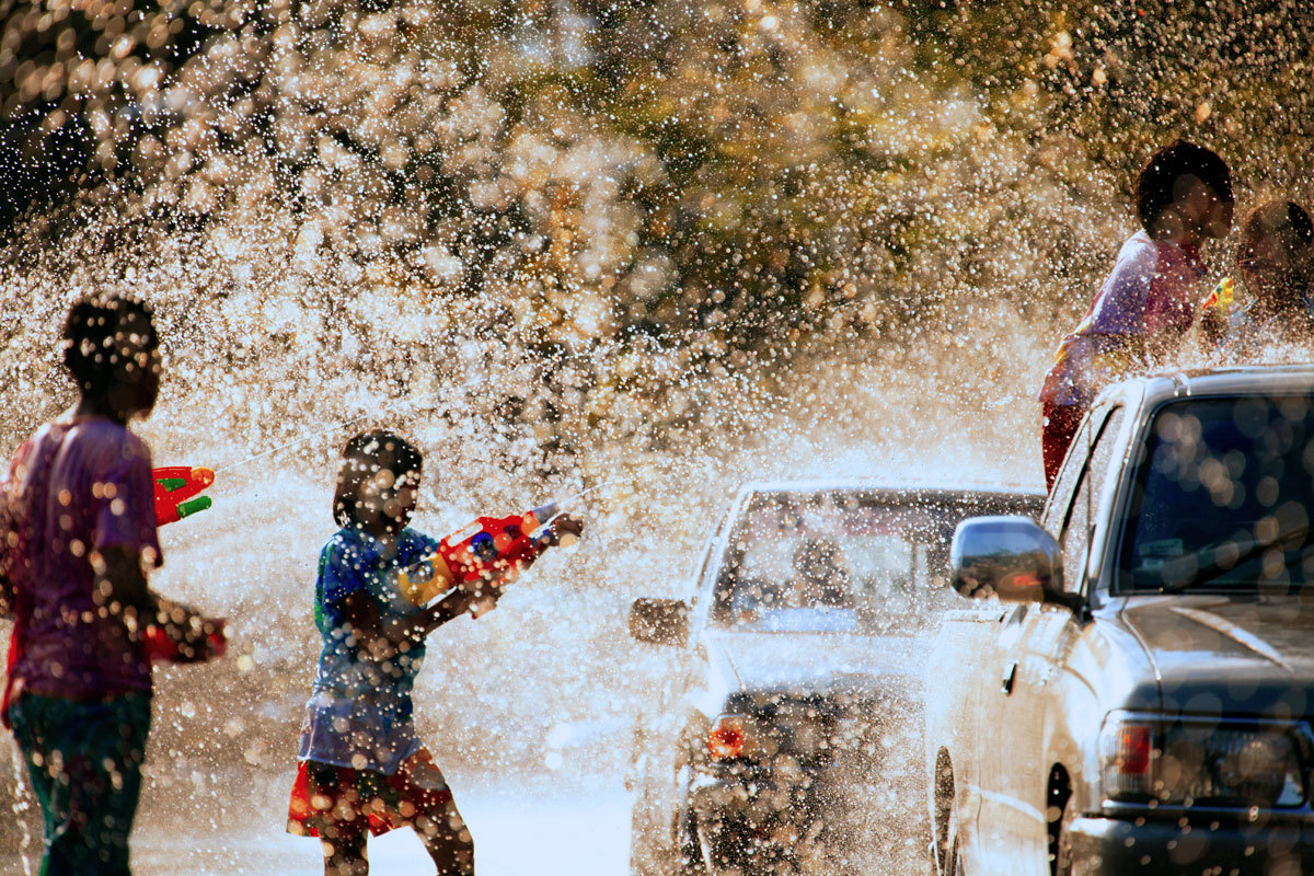 Songkran – a Festival of Watery delights